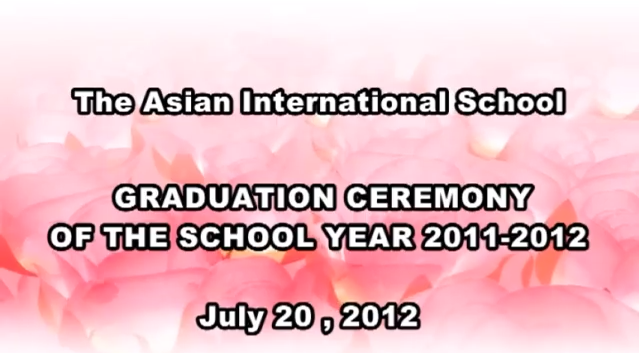 Graduation Ceremony of the School Year 2011-2012 (1)